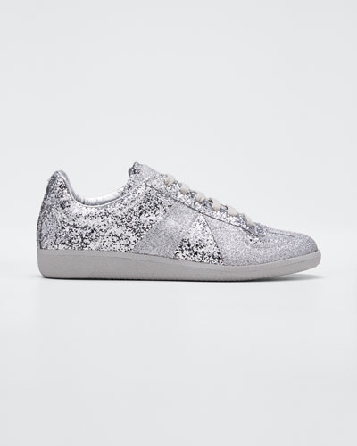 Replica Mixed Glitter Sneakers