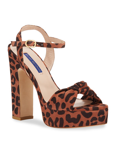 Mirri Cheetah Platform Sandals