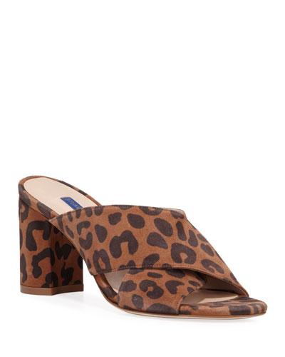 Galene Cheetah-Print Sandals