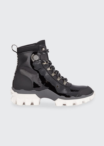 Hellis Stivale Leather Lace-Up Boots