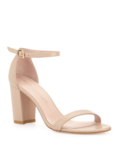 Nearlynude Patent Ankle-Strap Sandals