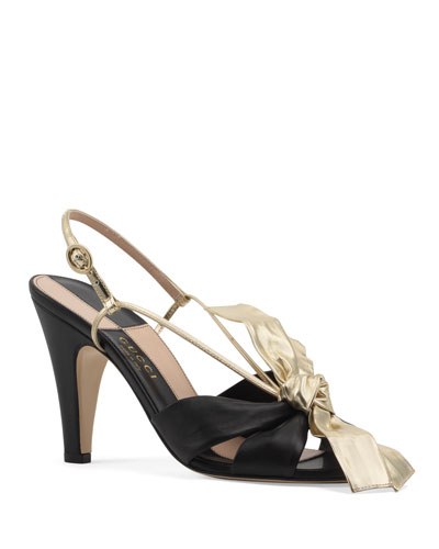 Daphne Napa Bow Sandals