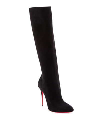 Eloise Over-The-Knee Red Sole Boots