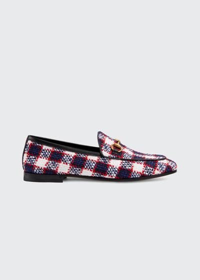 New Jordaan Vintage Tweed Check Loafers