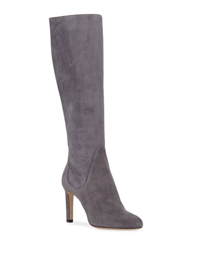 Tempe Suede Knee Boots