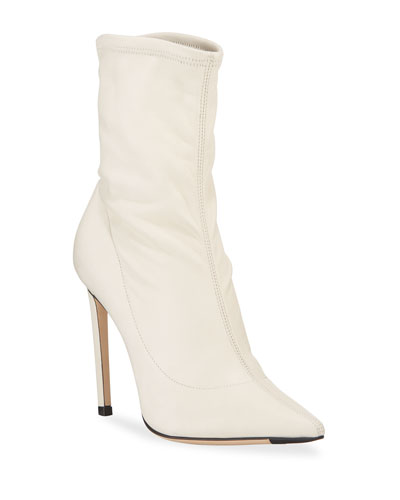 Brin Stretch Leather 100mm Booties
