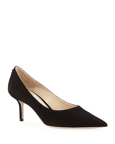 Love 65mm Suede Pumps