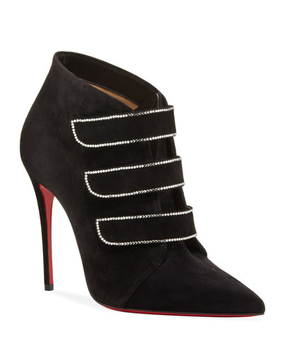 Triniboot Suede Red Sole Booties