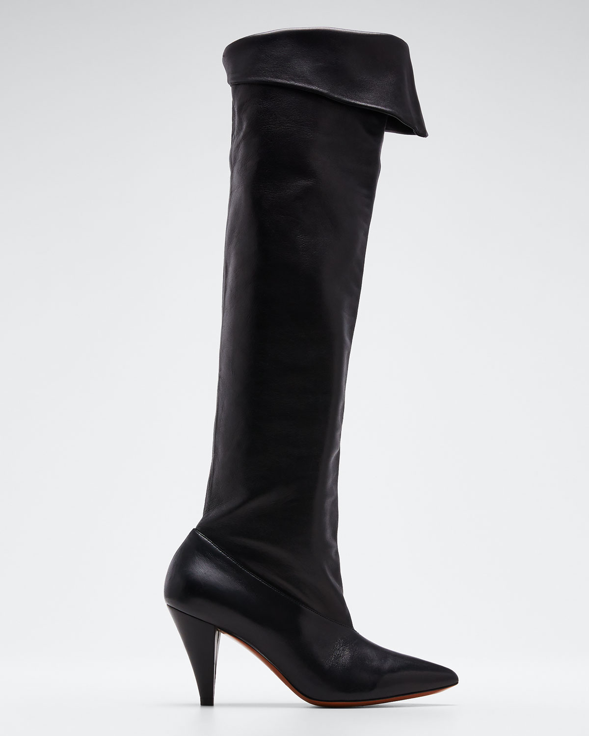 Givenchy Boots FOLD-DOWN OVER-THE-KNEE BOOTS