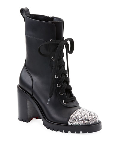 TS Croc Crystal-Cap Booties