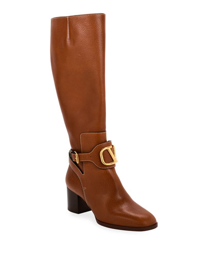 Go Logo High-Shaft Boots