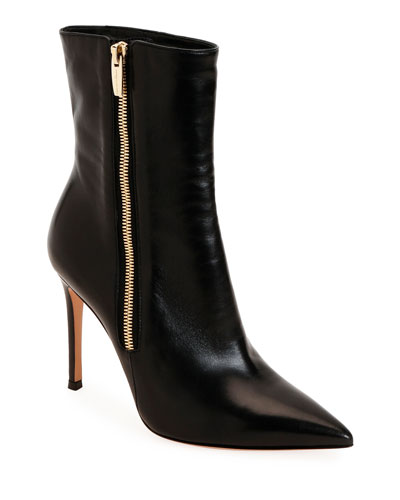 Napa Pointed Zip Booties