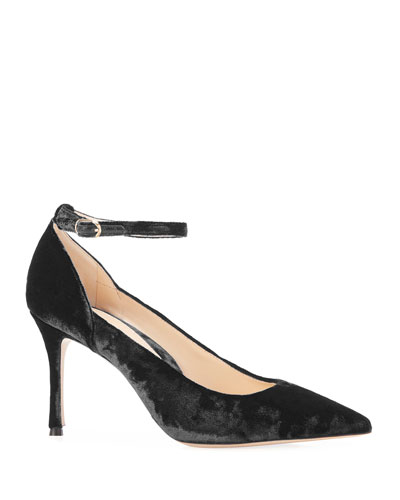 Muse Velvet Pointed Pumps