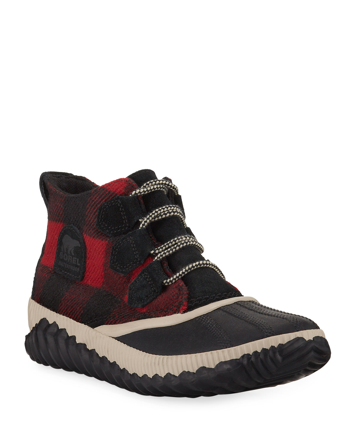 Sorel Boots OUT-N-ABOUT TARTAN BOOTS