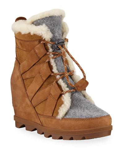 Joan of Arctic Wedge II Cozy Waterproof Boots