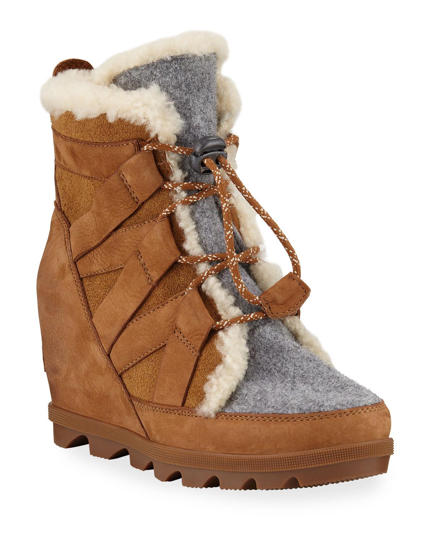 Sorel Boots JOAN OF ARCTIC WEDGE II COZY WATERPROOF BOOTS