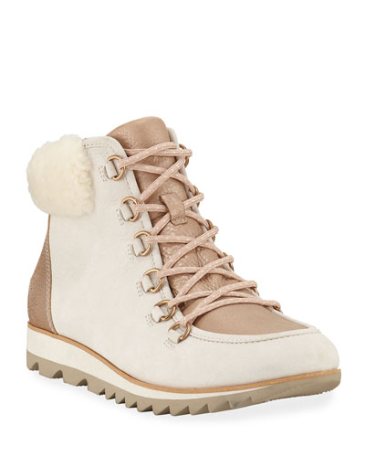 Harlow Lace-Up Lux Boots
