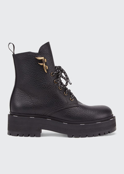 Ffreedom Lace-Up Hiker Booties