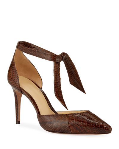 New Clarita Snakeskin Pumps
