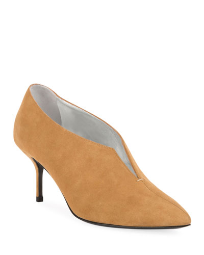 Secret Suede Ankle Pumps