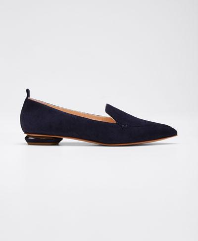 Beya Flat Suede Loafers