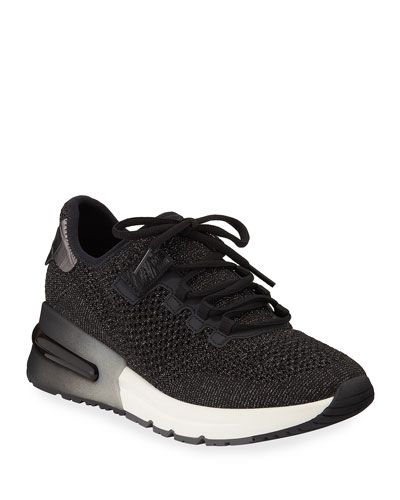 Krush Bis Mesh Sneakers, Black