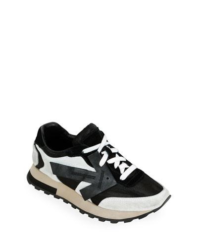HG Runner Leather & Nylon Sneakers