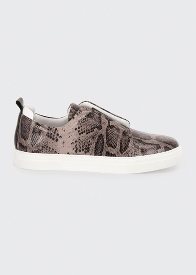 Slider Suede Slip-On Low-Top Sneakers