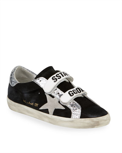 Old School Suede Star Sneakers