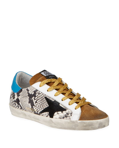 Superstar Mixed Rock Snake Sneakers