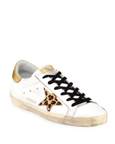 Superstar Leopard-Star Sneakers