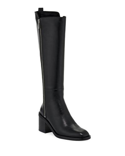 Alexa Smooth Tall Knee Boots