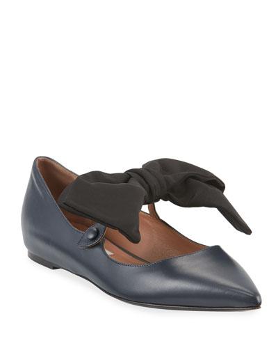 Evangeline Smooth Ballet Flats