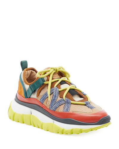 Blake Colorblock Mixed Sneakers