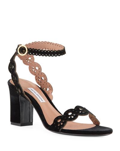 Bobbin Laser-Cut Sandals