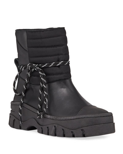 Biker Chunky Snow Booties