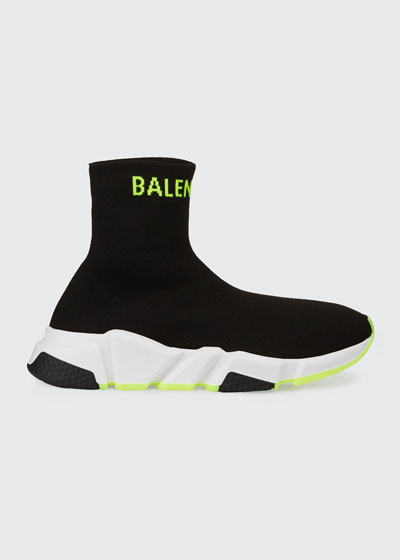 Speed High Logo Trainer Sneakers