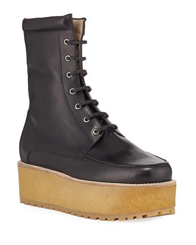 2fc8976e6 Womens Lace Up Boot | bergdorfgoodman.com