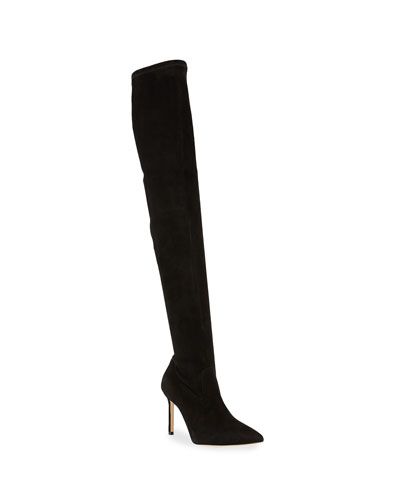 Pascalrehi Suede Over-The-Knee Boots