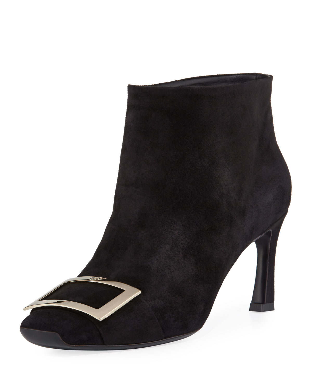 Roger Vivier Boots TROMPETTE EXTRA LOW SUEDE BOOTIES