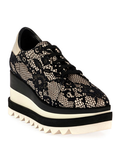 Sneakelyse Lace Chunky Sneakers