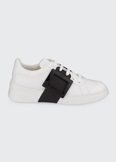 Viv' Skate Two-Tone Buckle Sneakers