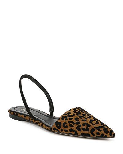 Koko Leopard Ballet Flats