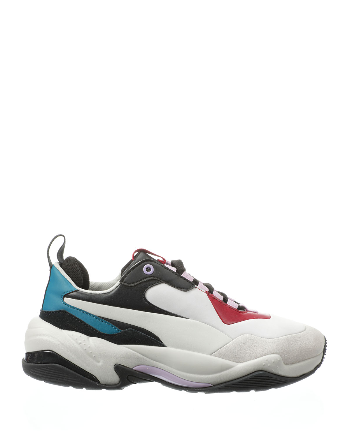 Puma Thunder Rive Droite Sneakers In Gray/Red