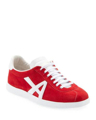 The A Suede Sneakers