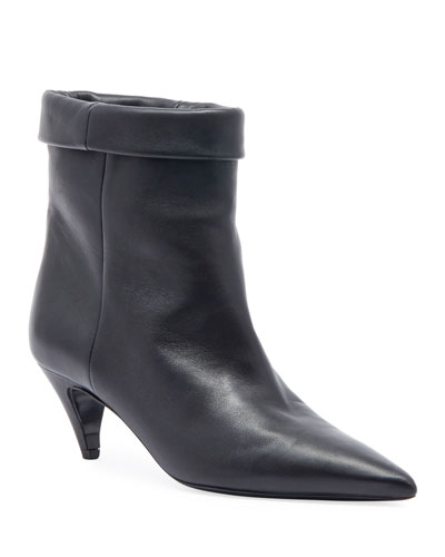 Fold-Over Pointed Booties