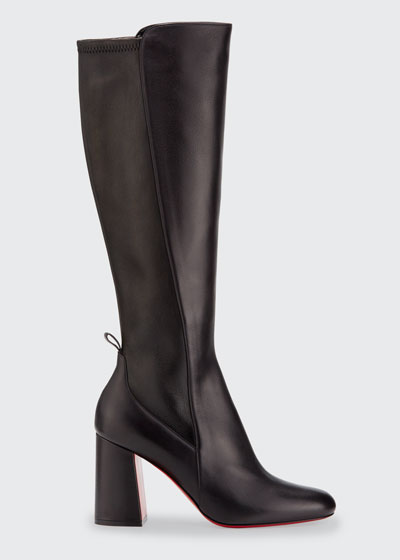 Kronobotte Red Sole Knee Boots