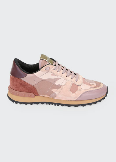 Rockrunner Camo Lace-Up Sneakers