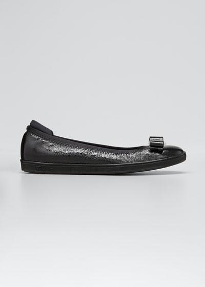 Savina Sneaker-Style Ballet Flats