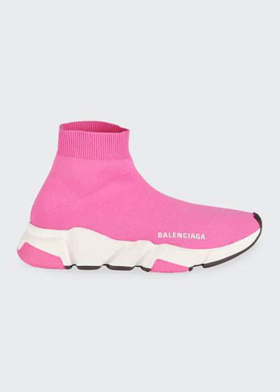 Speed Knit Chunky Sneakers